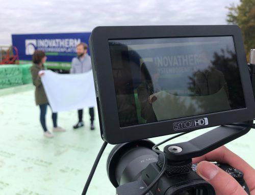 BASF Styrodur Filmdreh bei INOVATHERM